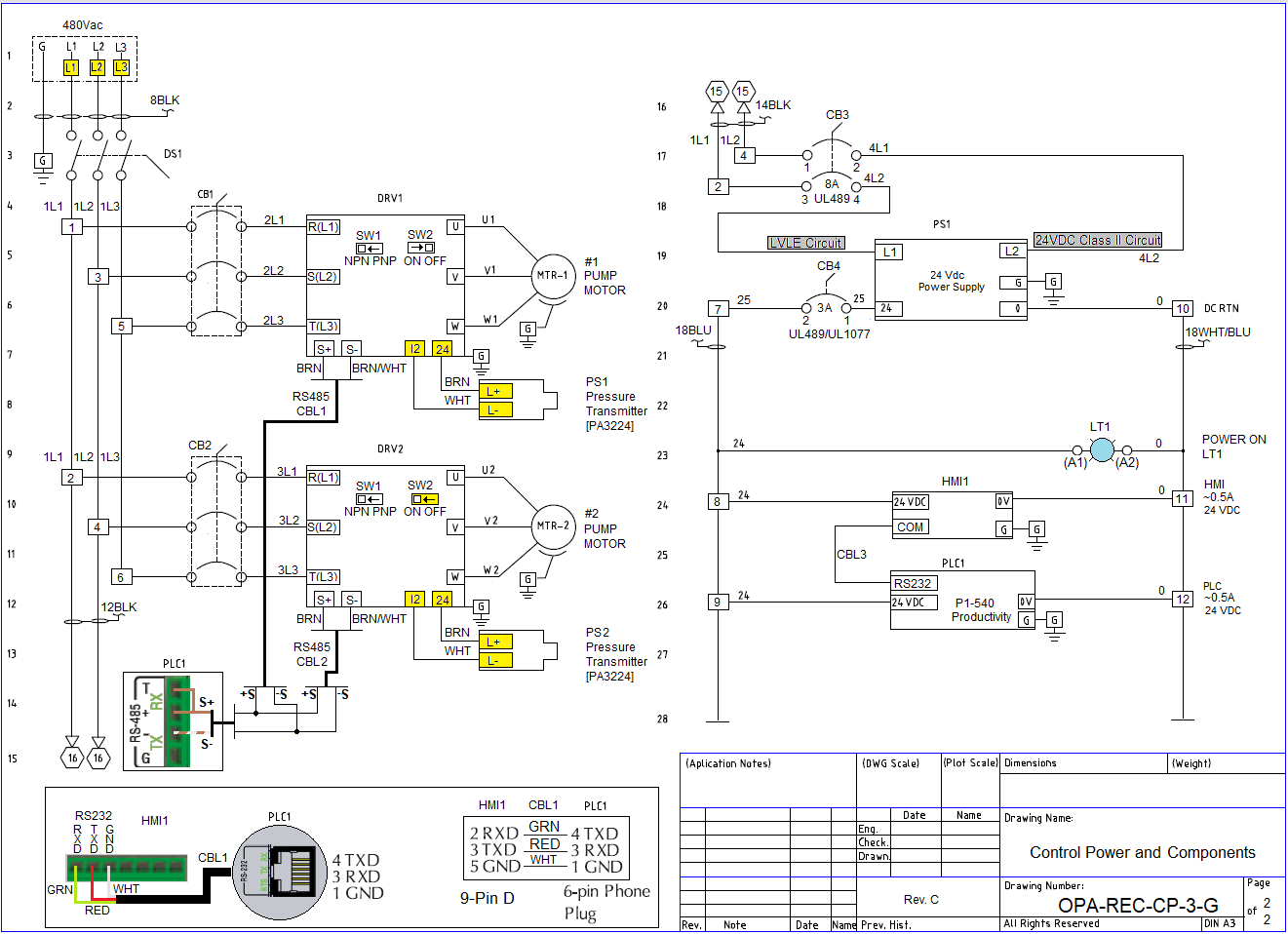 Constant Pressure Pump Controller Drawing ... Free to Download