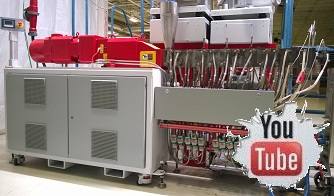 Twin Screw Extruder with EtherCAT Communication